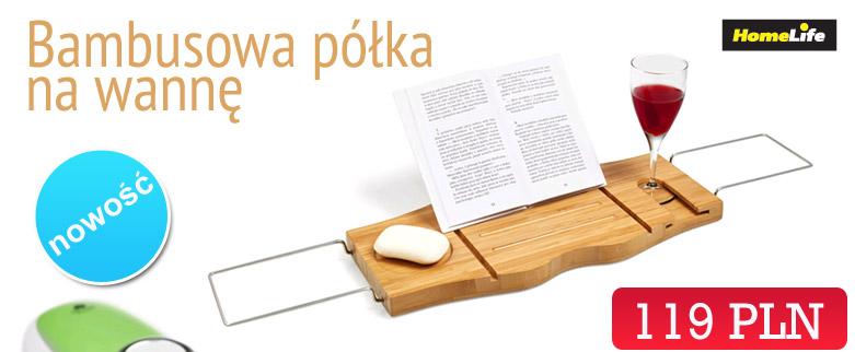 bambusowa półka